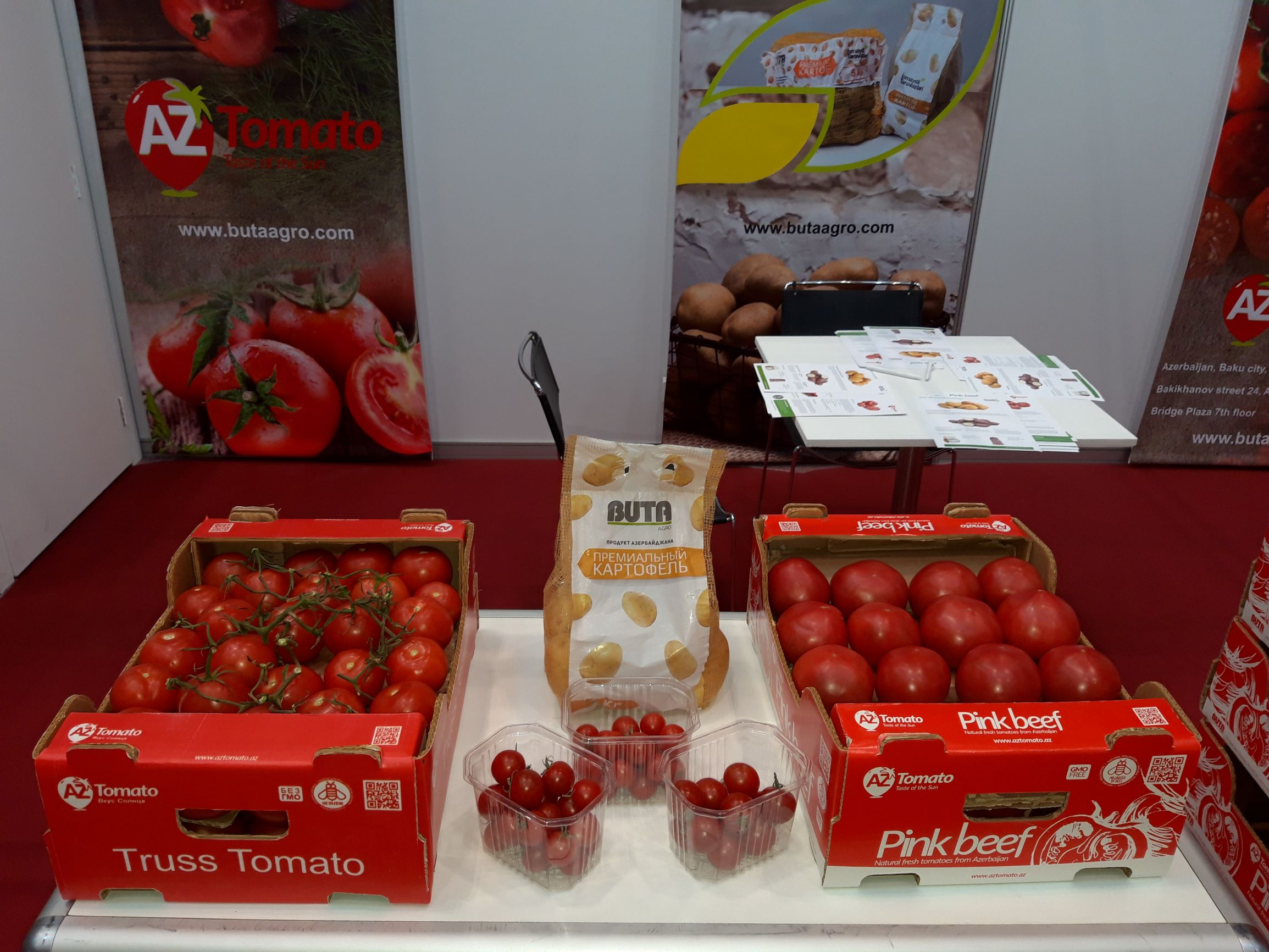 BUTA AGRO | Our company was represented at the First